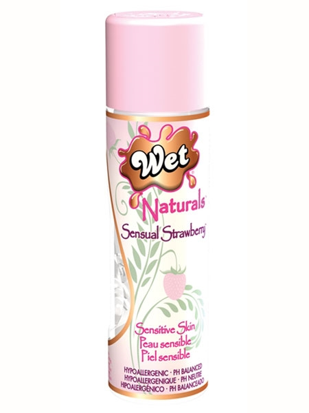 1. Sex Shop, Wet Naturals - Sensual Strawberry - 3.3 oz