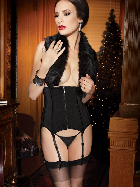 Waist Cincher Black Passion by Coquette