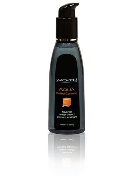 Salted Caramel Wicked Aqua Lubricant