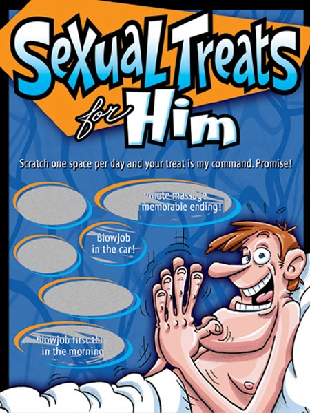 Scratch Sexual Treats for Him by Ozzé