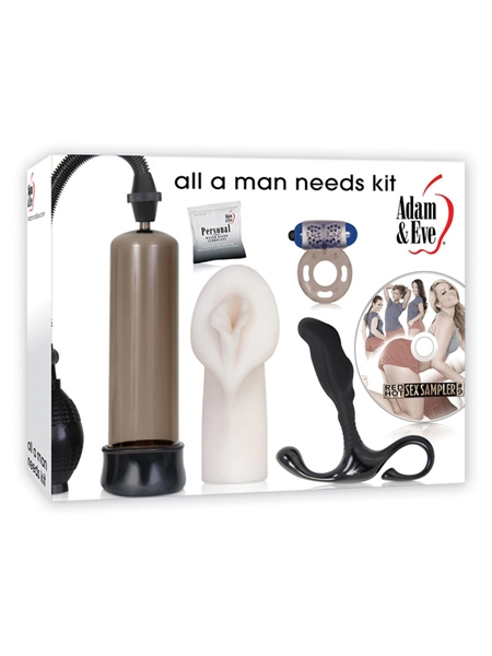 All a Man Needs Kit Smoke by Adam et Eve