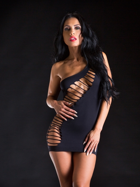 Seamless dress by Beverly Hills Naughty Girl