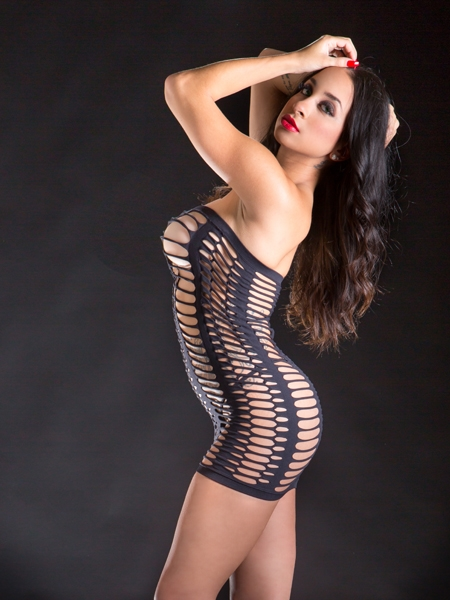 Big holes tube Dress by Beverly Hills Naughty Girl