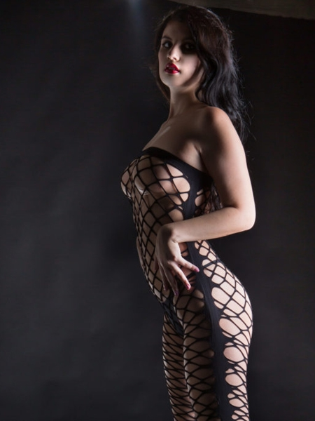 Jumpe suit fishnet by Beverly Hills Naughty Girl